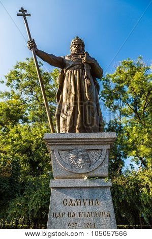 Monument Of King Samuil In Sofia
