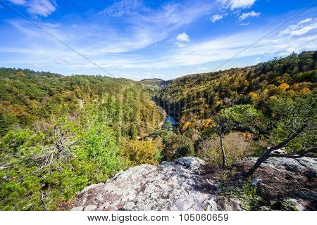 Lilly Bluff Overlook At Obed Wild And Scenic River