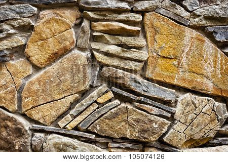 Background of hewn stone