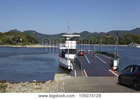 Rolandseck (remagen) - Ferry Across The Rhine