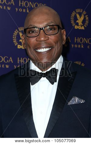 NEW YORK-OCT 15: DGA President Paris Barclay attends the DGA Honors Gala 2015 at the DGA Theater on October 15, 2015 in New York City.