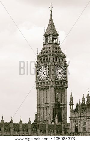 Big Ben, Black And White