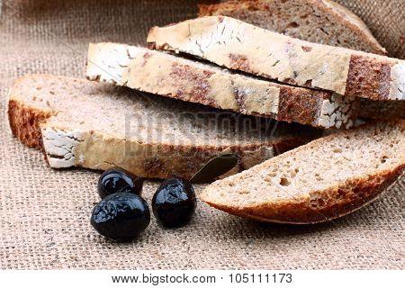 Sliced Brown Bread