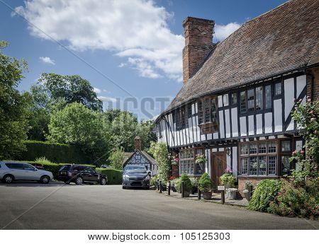 Cottage In English Village