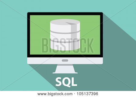 sql database computer