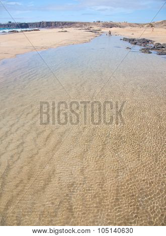 Fuerteventura, Canary Islands, Beach Playa Del Castillo