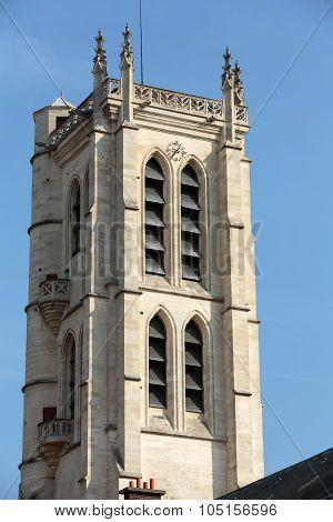 Paris - Clovis bell tower. Henry IV High School Public Secondary School Located in Paris
