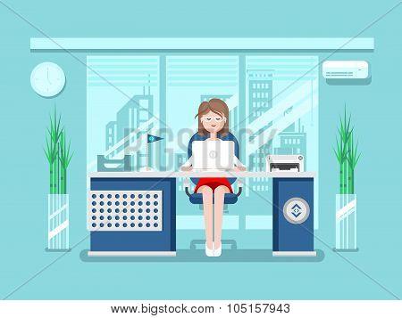 Secretary in office