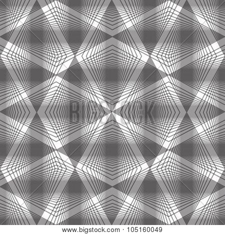 Abstract Vintage Seamless Background, Vector Illustration, Monochrome Seamless Pattern, Contains Sea