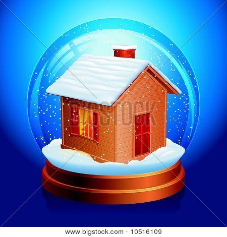 Snow globe.
