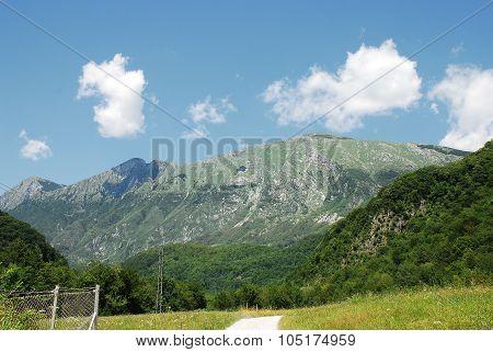 Scenery Near Kobarid