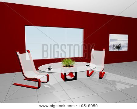 3D Cofee Table