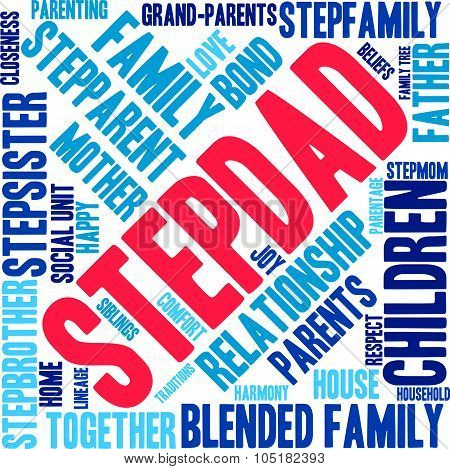Stepdad Word Cloud