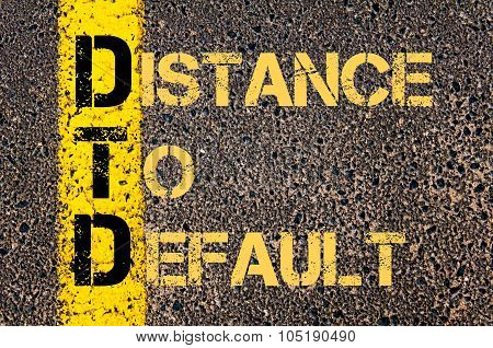 Business Acronym Dtd As Distance To Default