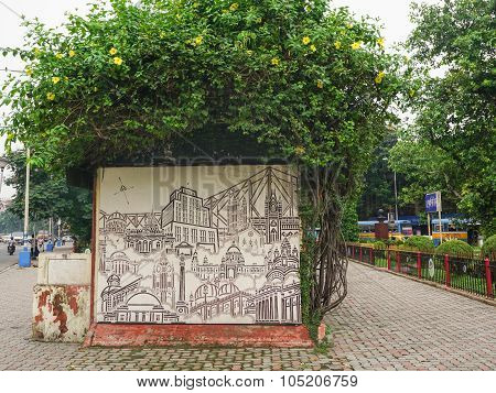 Elliot Park In Central Part Of Calcutta, India