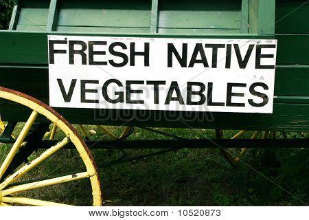 Fresh Native Vegetables for Sale