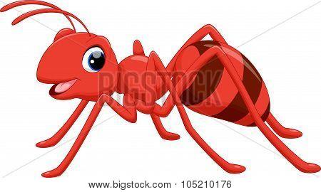 Funny ant cartoon