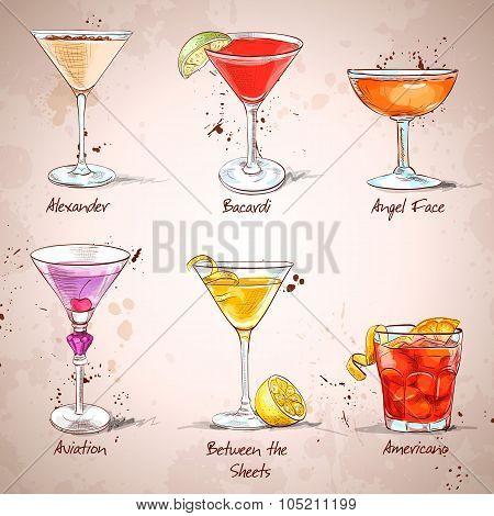 The Unforgettables Cocktail Set