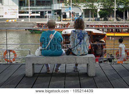 Clarke Quay In Singapore
