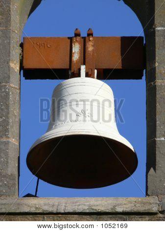 White Church Bell