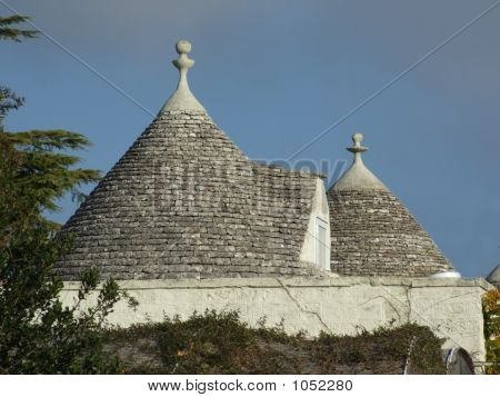 Trullo Roof Detail