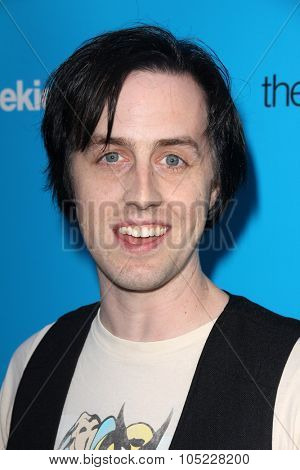 LOS ANGELES - OCT 15:  Alex Holmes at the 2015 Geekie Awards at the Club Nokia on October 15, 2015 in Los Angeles, CA