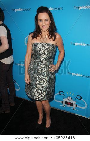 LOS ANGELES - OCT 15:  Courtenay Taylor at the 2015 Geekie Awards at the Club Nokia on October 15, 2015 in Los Angeles, CA