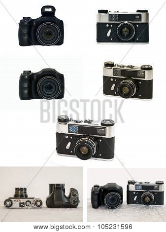 Zoom and rangefinder camera