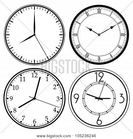 Wall Clock template