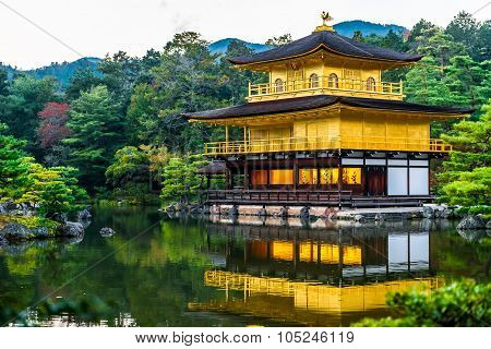 Kinkaku-ji, Kyoto, Japan.