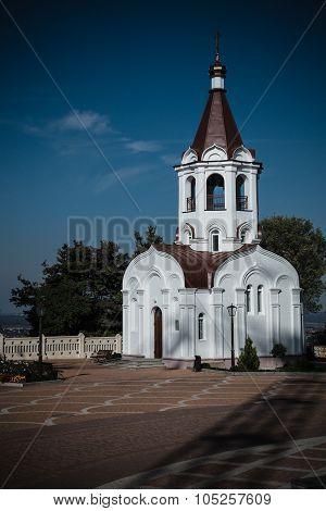Church Chapel. Kazansky Cathedral In Stavropol