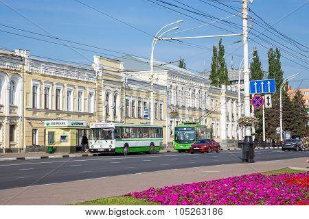 Russia. Tambov. Sovetskaya Street