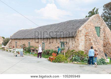 Road Stall And Restaurant At Matjiesfontein Farm