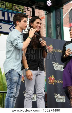 LOS ANGELES - OCT 17:  Cameron Boyce, Booboo Stewart at the Stars of