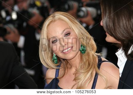 CANNES, FRANCE - MAY 20: Actress Ornella Muti attends the 'Inglourious Basterds' Premiere at the Grand Theatre Lumiere during the 62nd Annual Cannes Film Festival on May 20, 2009 in Cannes, France.