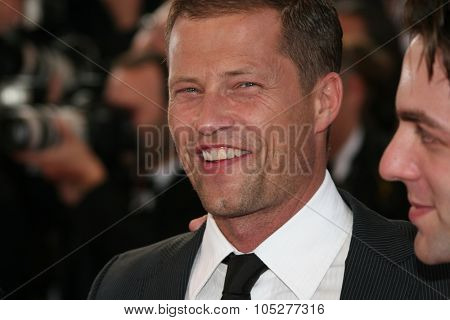 CANNES, FRANCE - MAY 20: Actor Til Schweiger attend the Inglourious Basterds Premiere held at the Palais Des Festivals during the 62nd  Cannes Film Festival on May 20th, 2009 in Cannes, France