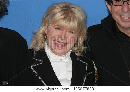 BERLIN - FEBRUARY 13: Singer Marianne Faithfull attends a photo call to promote the movie 'Irina Palm' during the 57th Berlin International Film Festival  on February 13, 2007 in Berlin, Germany