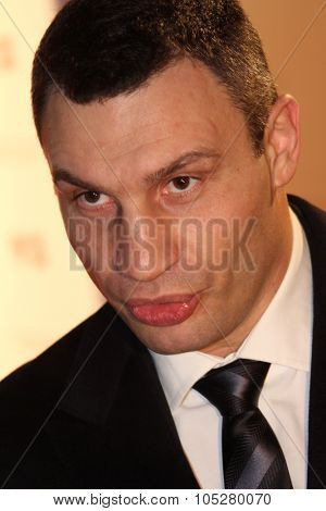 BERLIN - FEBRUARY 15: Boxing  Vitali Klitschko attends the Annual Cinema For Peace Gala during day five of the 60th Berlin  Film Festival at the Konzerthaus  on February 15, 2010 in Berlin, Germany.
