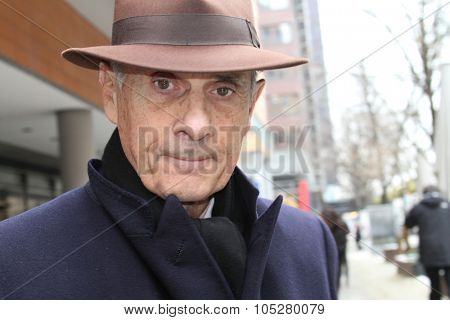 BERLIN - FEBRUARY 16: Actor Guy Marchand attends the 'L'Arbre Et La Foret' Press Conference during  of the 60th Berlin  Film Festival at the Grand Hyatt Hotel on February 16, 2010 in Berlin, Germany