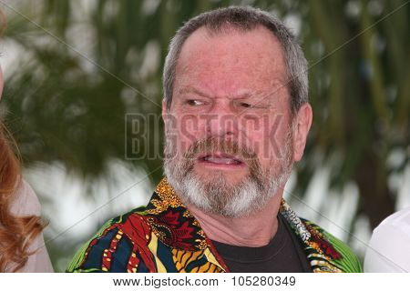 CANNES, FRANCE - MAY 22: Director Terry Gilliam attends the ' Doctor Parnassus' Photocall at the Grand Theatre Lumiere during the 62nd  Cannes Film Festival on May 22, 2009 in Cannes, France
