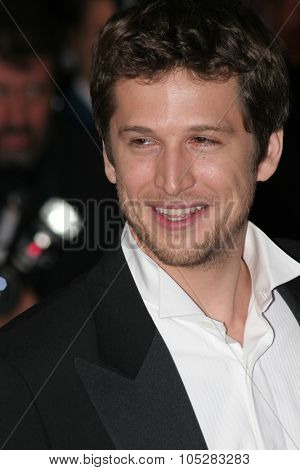 CANNES, FRANCE - MAY 16: Guillaume Canet attends a Premier the film 'Joyeux Noel' at the Palais during the 58th International Cannes Film Festival May 16, 2005 in Cannes, France