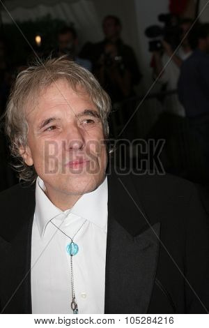 DEAUVILLE, FRANCE - SEPTEMBER 09: US director Abel Ferrara arrives at the premiere for Mary at the 31st Deauville Festival Of American Film on September 9, 2005 in Deauville, France.