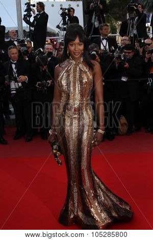 CANNES, FRANCE - MAY 17: Naomi Campbell attend 'Biutiful' Premiere at the Palais des Festivals during the 63rd Cannes Film Festival on May 17, 2010 in Cannes, France
