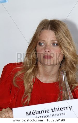 CANNES, FRANCE - MAY 16: Melanie Thierry poses during a portrait session for 'Impardonnables' during the 64th Annual Cannes Film Festival  on May 16, 2011 in Cannes, France