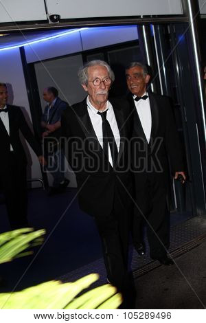 CANNES, FRANCE - MAY 17: Jean Rochefort attends 'The Beaver' premiere at the Palais des Festivals during the 64th Cannes Film Festival on May 17, 2011 in Cannes, Franc