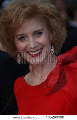 CANNES, FRANCE - MAY 22: Marisa Paredes attends the 'Les Bien-Aimes' premiere at the Palais des Festivals during the 64th Cannes Film Festival on May 22, 2011 in Cannes, France