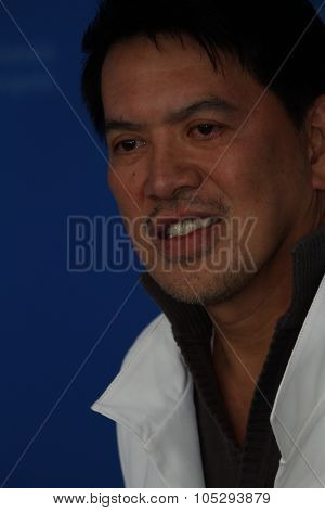 BERLIN, GERMANY - FEBRUARY 12: Director Brillante Mendoza attends the 'Captive' Photocall  of the 62nd Berlin International Film Festival at the Grand Hyatt on February 12, 2012 in Berlin, Germany