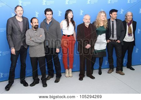 BERLIN, GERMANY - FEBRUARY 09: Members of the jury attends the International Jury Photocall during of the 62nd Berlin  Film Festival at the Grand Hyatt on February 9, 2012 in Berlin, Germany