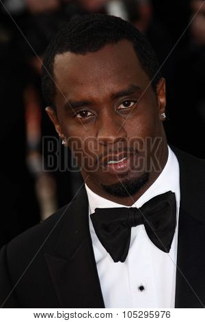CANNES, FRANCE - MAY 19: Sean Combs attends the 'Lawless' Premiere attends the 'Lawless' Premiere during the 65th  Cannes  Festival at Palais des Festivals on May 19, 2012 in Cannes, France.