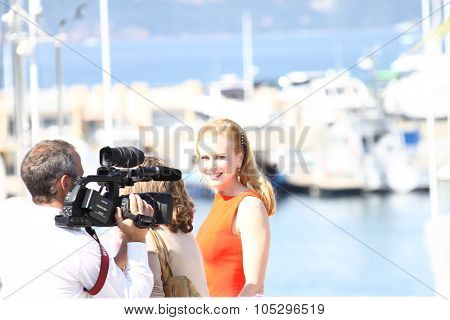 CANNES, FRANCE - MAY 24: Nicole Kidman attends the 'The Paperboy' photocall during the 65th Annual Cannes Film Festival at Palais des Festivals on May 24, 2012 in Cannes, France.